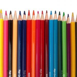 مدادرنگی لوله ای 24 رنگ WOKE مدل 9801H-24