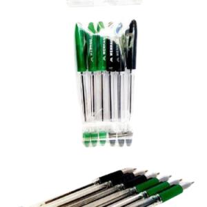 خودکار 6 عددی مشکی و سبز