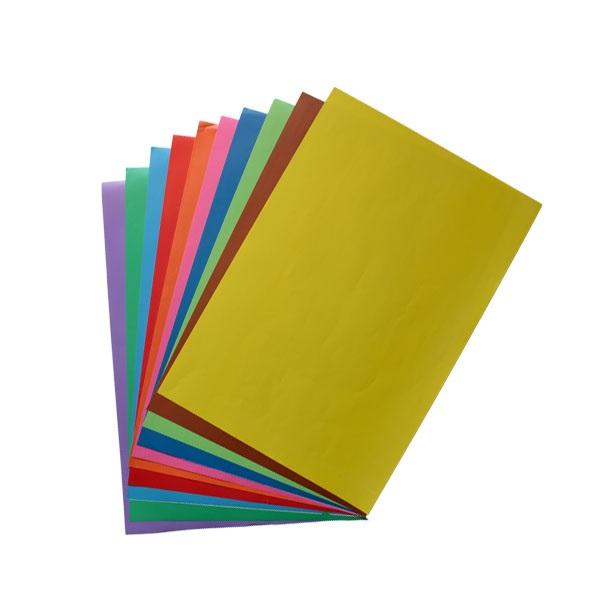 کاغذ رنگی دو رو 10 رنگ