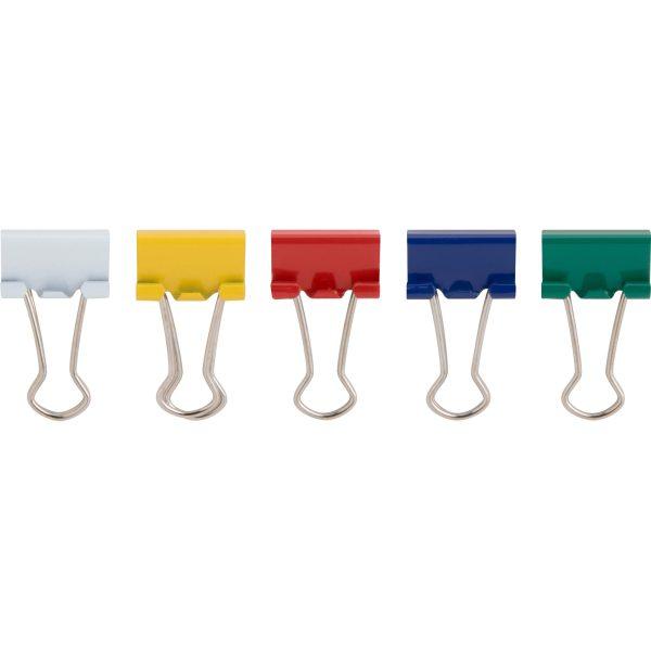 گیره دوبل رنگی سایز 19 میلیمتری بسته 10 عددی