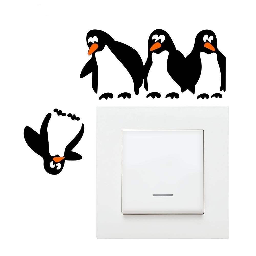استیکر کلیدوپریز طرح پنگوئن