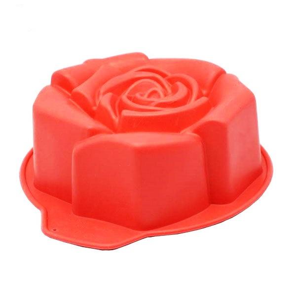 قالب ژله طرح گل رز