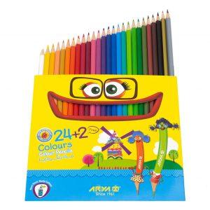 مدادرنگی 2+24 رنگ آریا