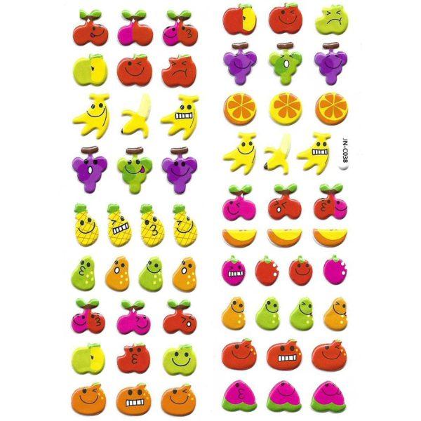 استیکر کودک طرح میوه