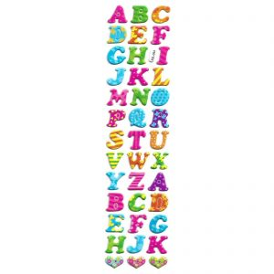 استیکر کودک طرح حروف الفبا