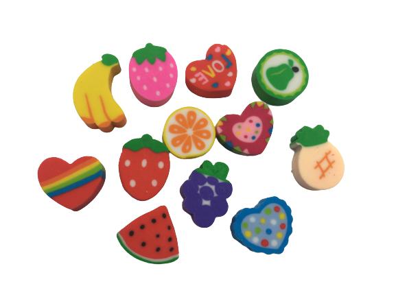 پاکن فانتزی طرح میوه جات 12 تایی