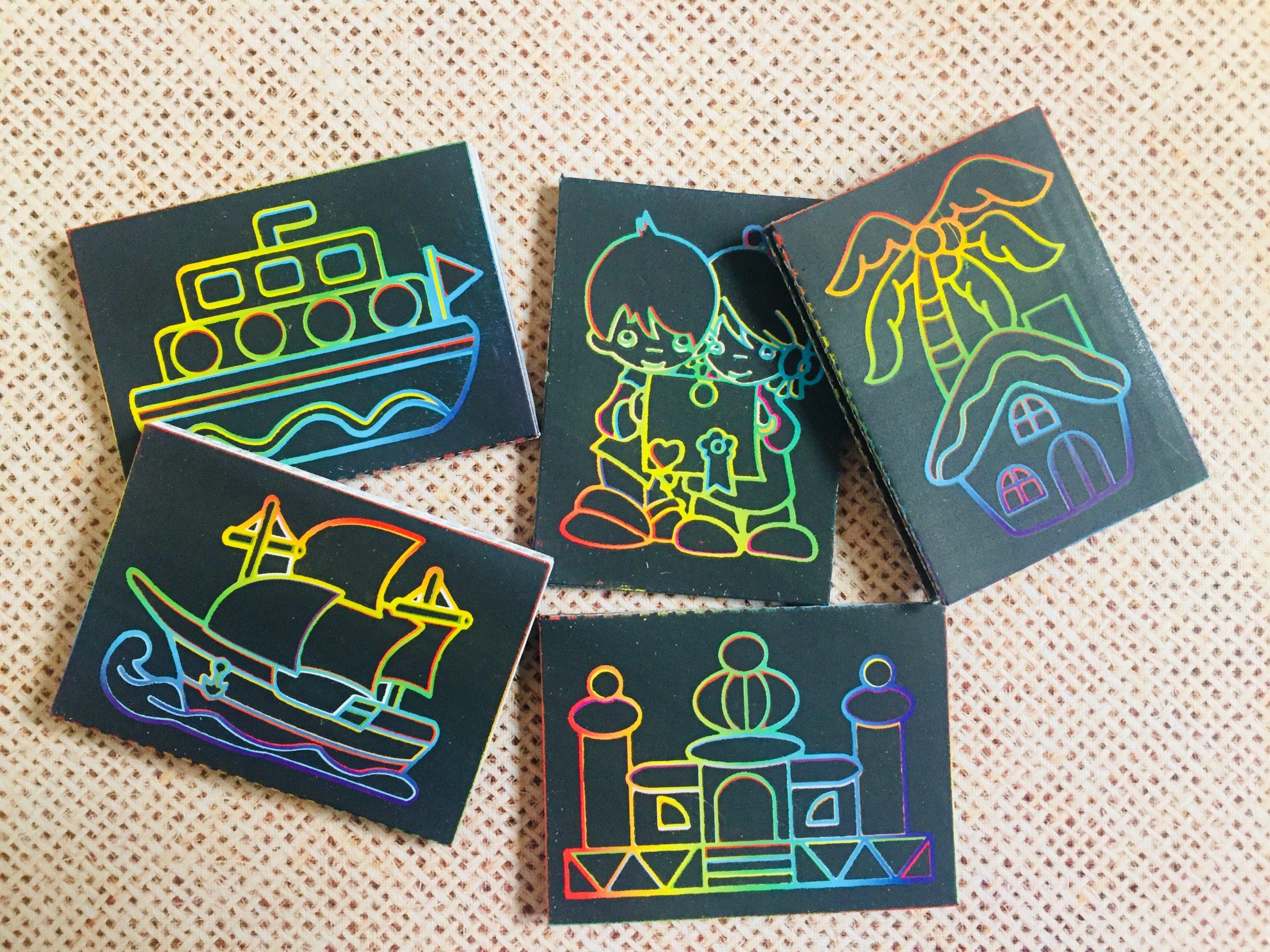 ست نقاشی جادویی 5 عددی