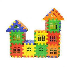 بازی بلوک های خانه سازی 72 قطعه