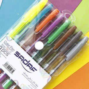 خودکار هشت رنگ صدف