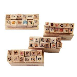 مهر چوبی 12 تایی