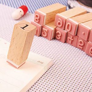 مهر چوبی اعداد انگلیسی