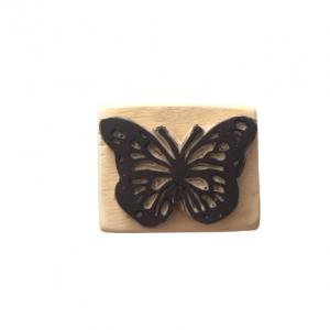 مهر چوبی فانتزی طرح پروانه