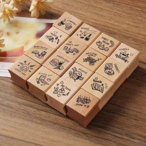 مهر چوبی 4 تایی