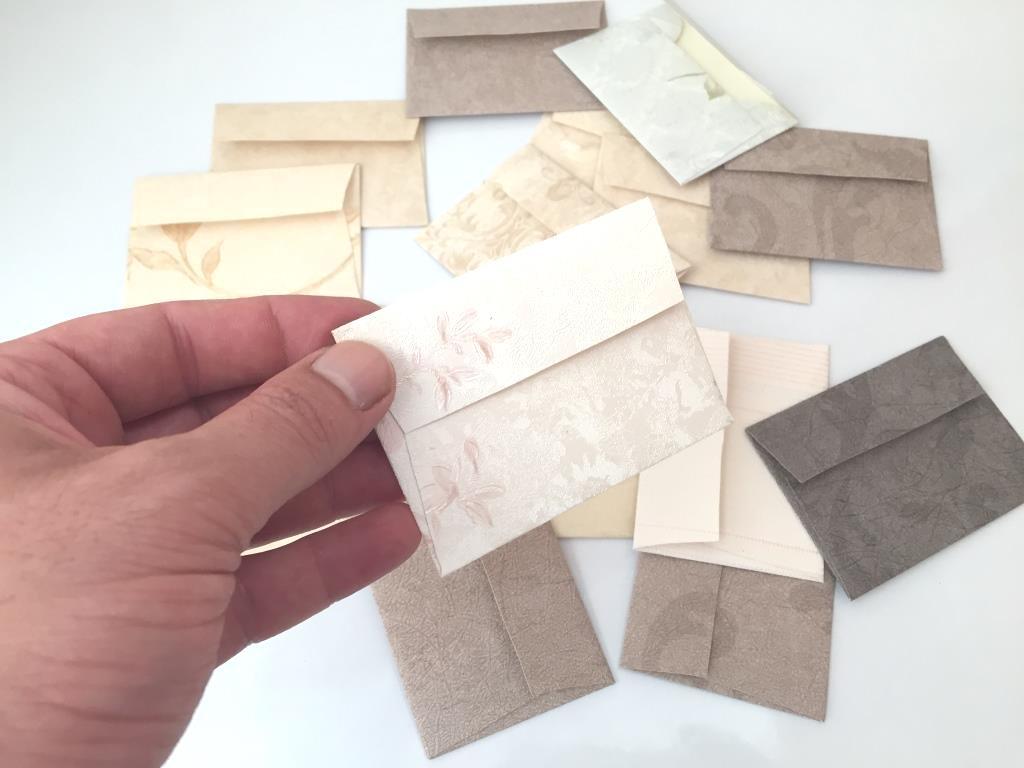 پاکت کوچک کاغذ دیواری