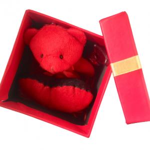 جعبه کادویی خرس و قلب